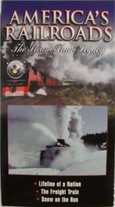 VHS VIDEO Southern Pacifics Steam Powered Rotary Snow Plow. The