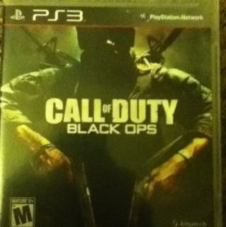 Call of Duty Black Ops Sony PlayStation 3 2010 Great Condition L00K