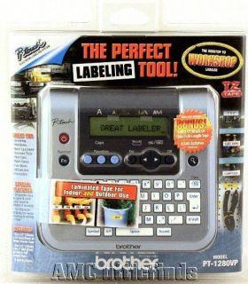 Brother PT 1280 Handheld Desktop Label Maker NIP 012502538172
