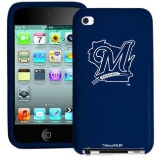 Brewers Silicone 4th Generation iPod Touch Case Navy Blue
