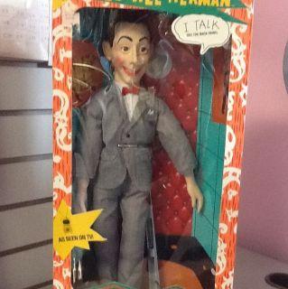 1987 Talking Pee Wee Herman Doll Matchbox Playhouse in Box