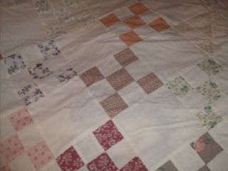 Fantastic Diamond Pattern Quilt Top