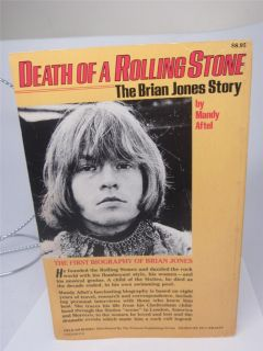 Death of a Rolling Stone Brian Jones Story 1st Ed 1982 + Jagger Book