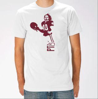 Sun Devils Arizona Cardinals T Shirt Pat Tillman White T Shirt