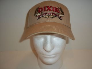 dixie outfitters tan red cap hat outdoors hunt antlers