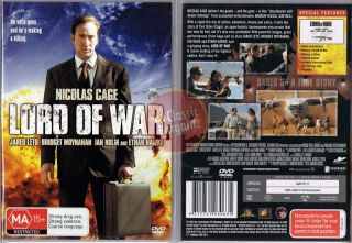 Lord of War Nicolas Cage Ethan Hawke Jared Leto New DVD