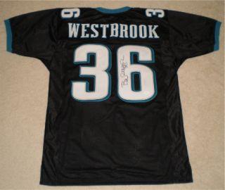 Brian Westbrook Autographed Signed Philadelphia Eagles 36 Black Jersey