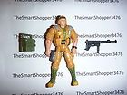 JOE 2002 DUKE Action Figure Lot with Rifle and Backpack Accessories