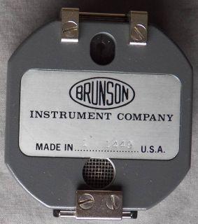 Vintage Brunson Engineering, Geologist Pocket Transit Compass