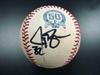 Jay Bruce & Scott Rolen Dual Signed Baseball Reds