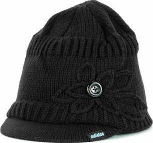 Adidas New Womens Frostie Brimmer Beanie Knit Cap Hat OSFA