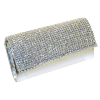 Women New Diamante Prom Party Night Gift Clutch Purse Bag Brink