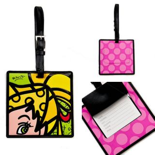 Disney by Britto Oversize Faux Leather Tinkerbell Luggage Tag 4024511