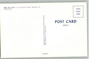 Postcard Buck Hill Falls in Poconos Pennsylvania PA