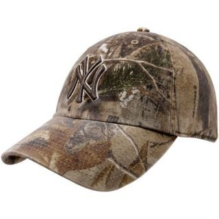47 Brand New York Yankees Real Tree Camo Franchise Fitted Hat