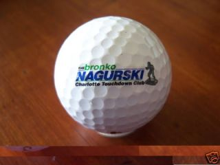 Logo Golf Ball The Bronko Nagurski Charlotte TCHDN Club