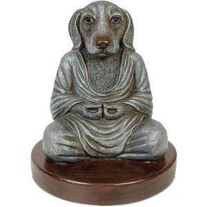Dog Buddha Statue Sculpture