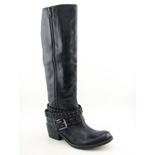Bronx Stuck on You Womens Sz 10 Black Boots Knee Shoes