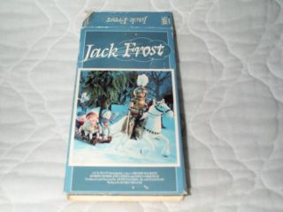 Jack Frost VHS Buddy Hackett Rankin Bass Claymation 028485180017