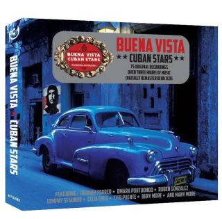 Buena Vista CUBAN STARS 75 Tracks Ibrahim Ferrer REMASTERED New Sealed