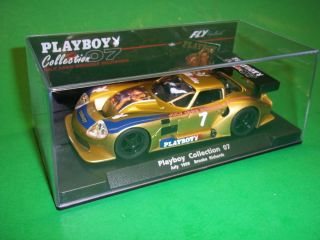 Fly Playboy 07 Marcos LM600 Brooke Richards 1 32 Scale Slot Car