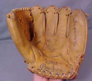 Brooks Robinson Endorsed Rawlings GJ109 Youth Baseball Glove.