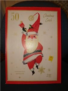 VTG Unused Christmas Greeting Cards Boxed BAPCO Brookline Design USA