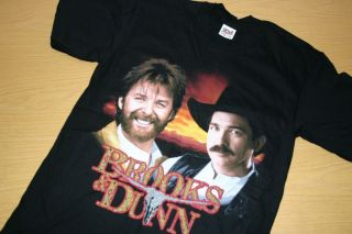 New Brooks Dunn Waiting on Sundown Concert Tour T Shirt M Country