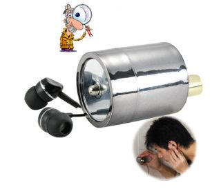 Secret Wall Spy Bug Listening Device Gadget Microphone Audio Sound
