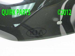 2012 2013 Kia Sportage Hood Deflector Bug Shield Genuine OEM BRAND NEW