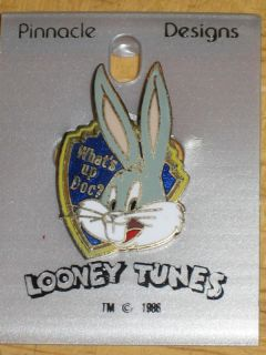 Official WB Looney Tunes Bugs Bunny Vintage 80s Pin