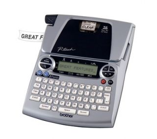 how to use a p touch label maker