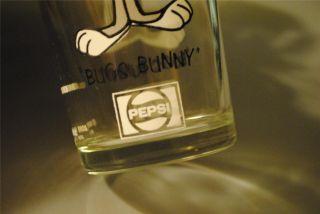Looney Tunes Bugs Bunny Glass Pepsi Collectible Retro RARE 6