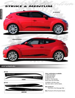 For Hyundai Veloster Mentum Graphics Kit EE1933 Decals Trim Emblems