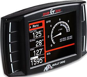 BULLY DOG TRIPLE DOG GT DIESEL 40420 GAUGE TUNER CUMMINS POWERSTROKE