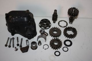 1982 1983 HONDA ATC 200E Big Red High Low Gear Set and Cover
