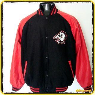 BUFFALO SABRES NHL Carl Banks G III Wool Faux Leather Jacket Mens XL