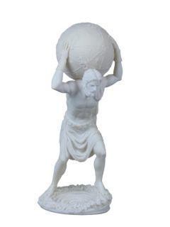 Greek God Burden of Atlas Statue Heavenly Sphere Titan