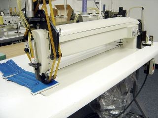 Galkin 30 Long Arm Mattress Label and Foam Pad Zig Zag Sewing Machine