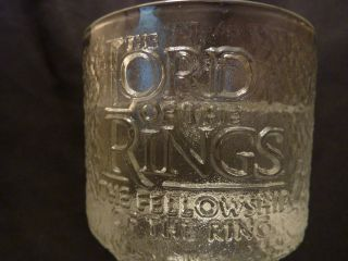 Lord of The Rings Light Up Burger King Collector Cup