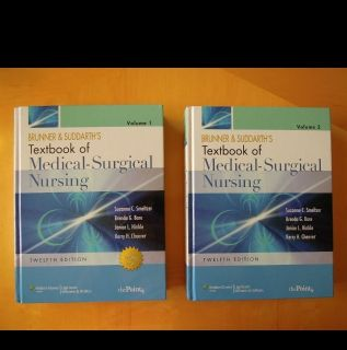 Brunner Suddarths Textbook of Medical Surgical Nursing No Scratch Off