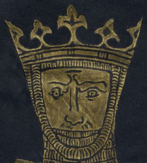 Robt The Bruce Medieval King Large Brass Rubbing