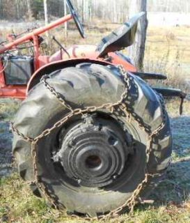 Set of 13 6 24 inch Tire Chains Up for Auction
