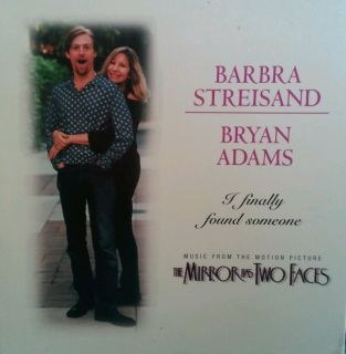 Barbra Streisand Bryan Adams I finally found someone single CD