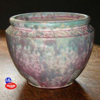 Burley Winter Crooksville Jardiniere American Art Pottery