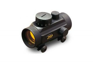 BSA Optics 1x30 Red Dot Crossbow Scope 5 MOA Matte Black CBRD30CP