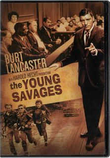 The Young Savages DVD Burt Lancaster New RARE