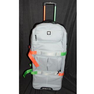 New Burton Wheelie Sub Cargo Mens Luggage Travel Bag Grey