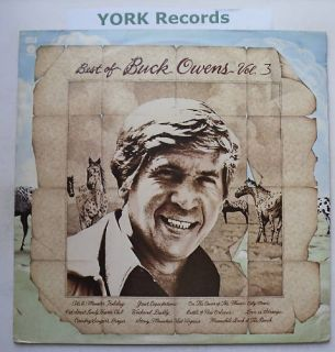 Buck Owens Best of Buck Owens Vol 3 EX LP Record