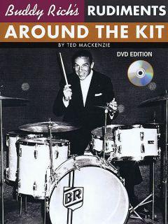 Buddy Rich Rudiments Around The Kit Book DVD